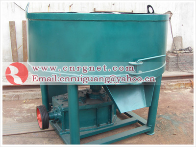 wheel grinding mixer